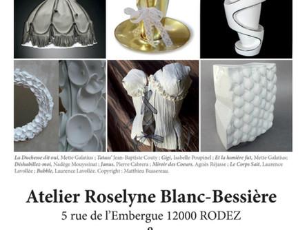 Esprit Porcelaine expose à Rodez