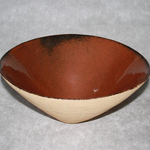 Light sandstone salad bowl 29