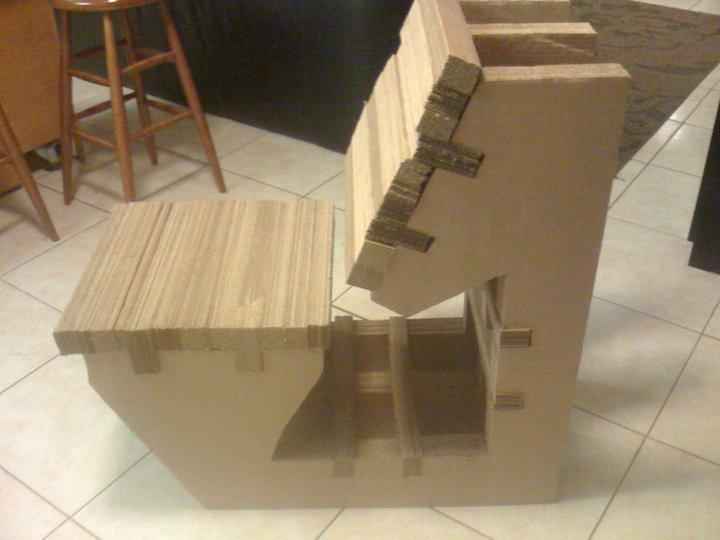 Redeveloped Furniture-2, Corrugated Board