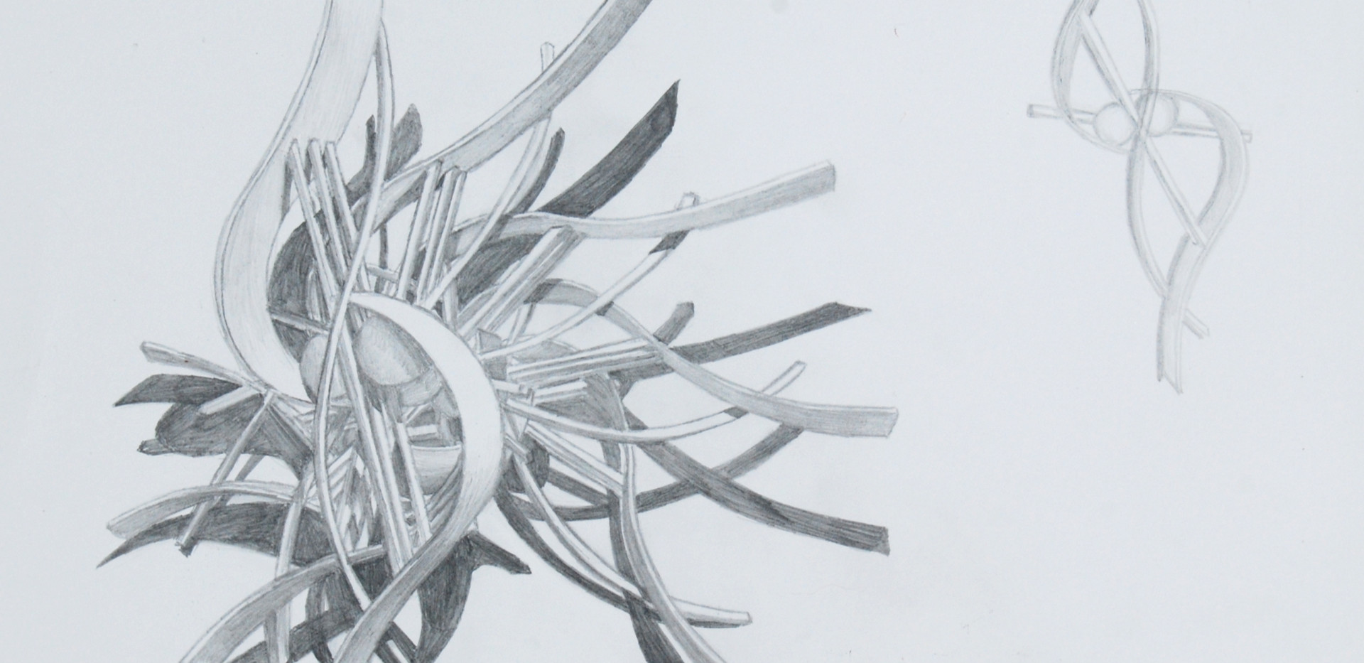 Abstract Sculpture Sketch