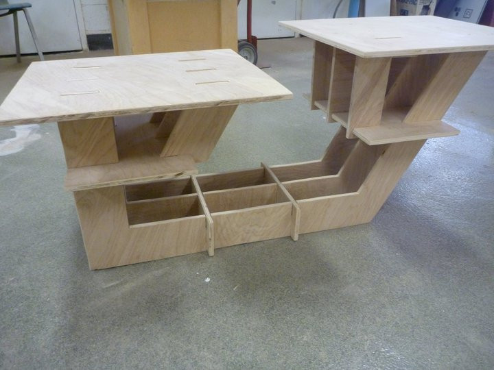 Redeveloped Furniture Build - Plywood
