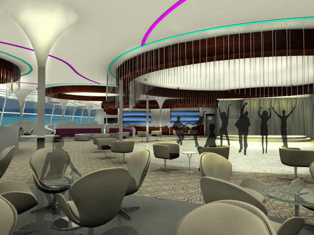 M2 CRUISE SHIP LOUNGE