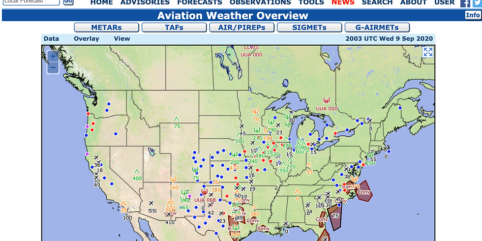 Weather Planning for Instrument Pilots (FREE)