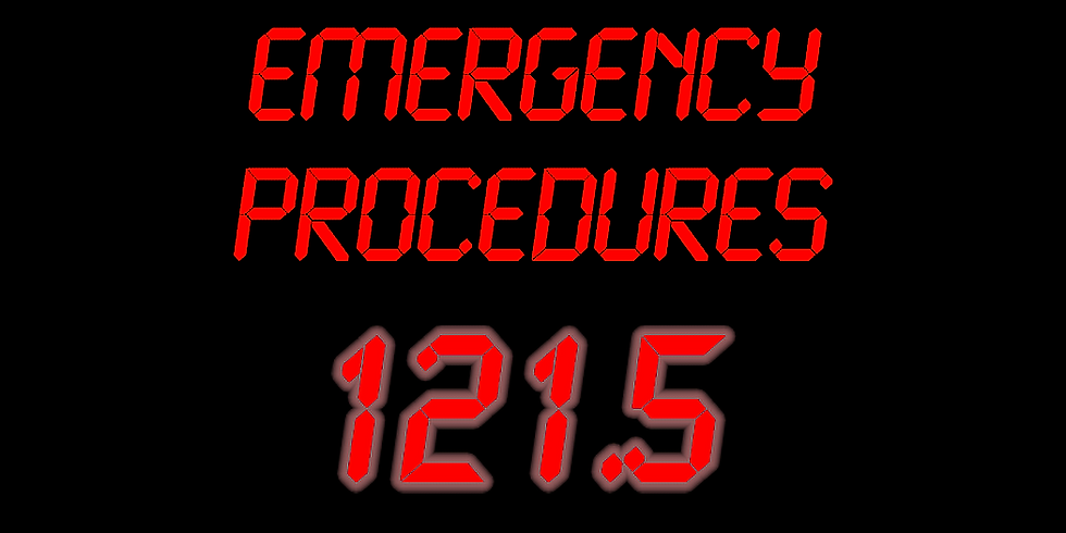 Emergency Procedures (FREE)