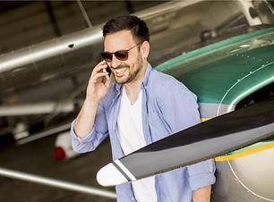 Pilot making call.jpg