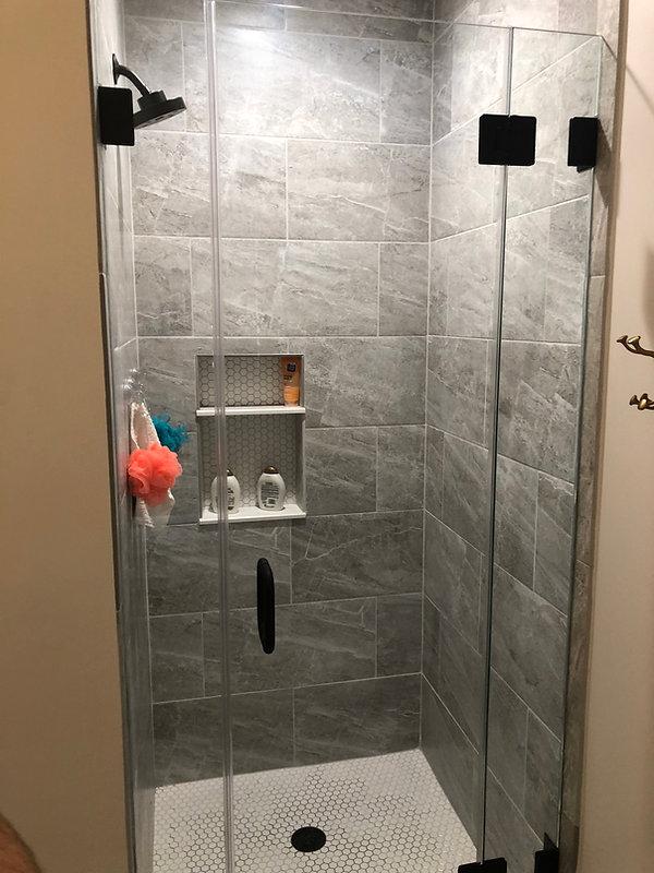 Framelss Glass Shower Enclosure by AMC.j