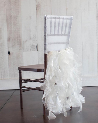ORGANZA CHAIR COVERS