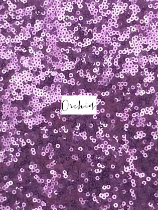 ORCHID SEQUIN TABLE RUNNER