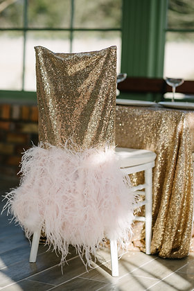 SEQUIN CHIAVARI CHAIR COVERS