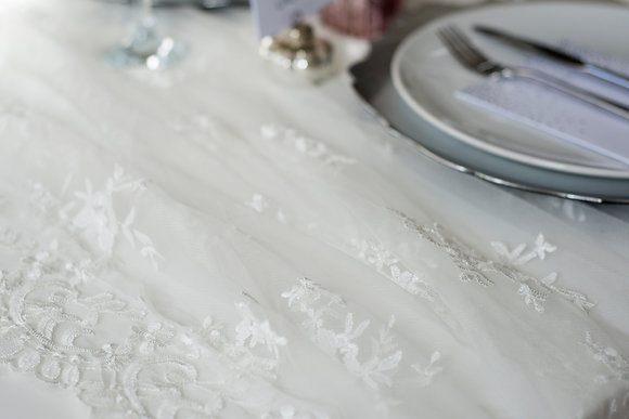 LACE TABLE RUNNERS - LARGE