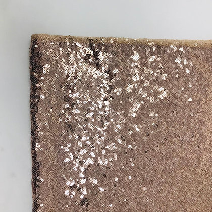 PALE ROSE GOLD  SEQUIN TABLE RUNNER