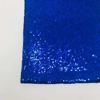 PETROL BLUE SEQUIN TABLE RUNNER