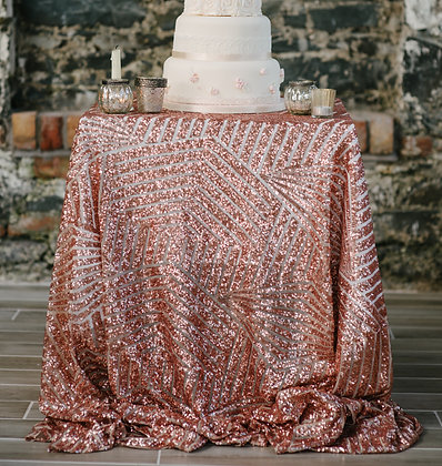 ART DECO SEQUIN TABLECLOTH