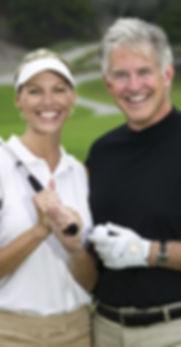 Golfing couple who had life coaching