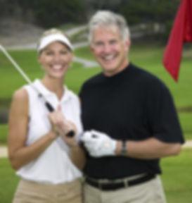 Pareja de golf