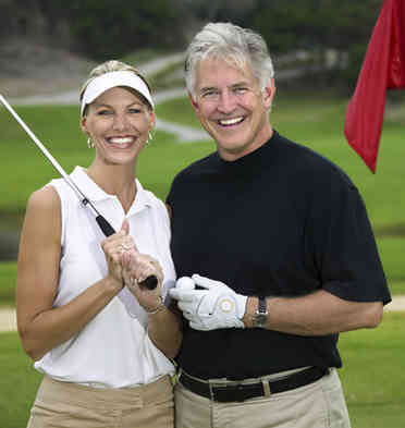 Golf-Paar