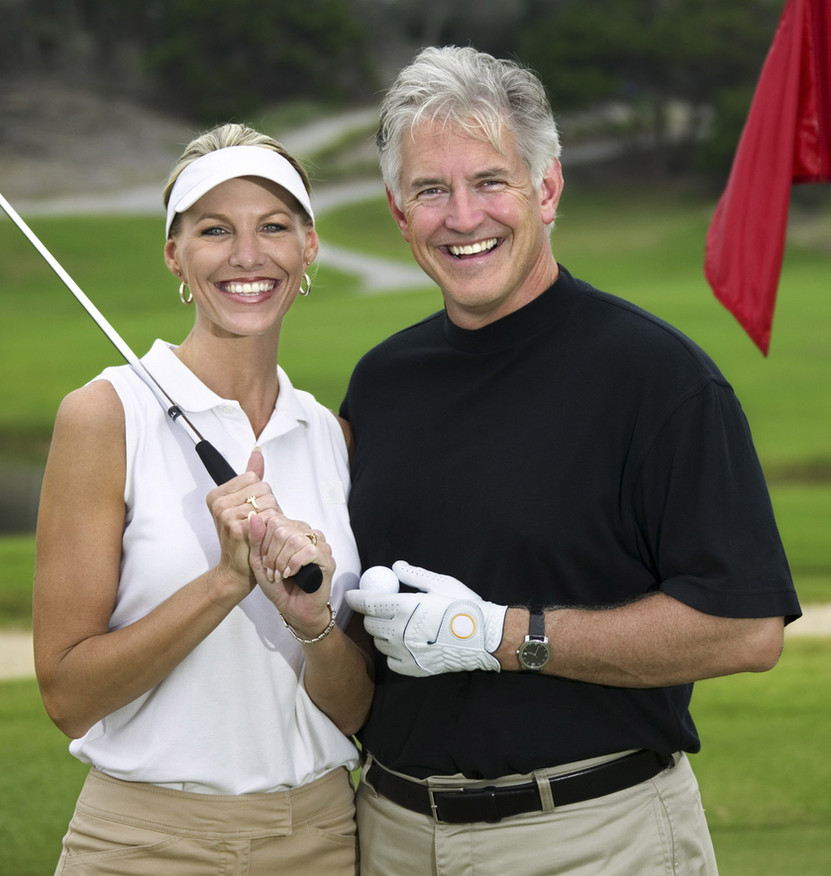 Golf-Sport im Trend