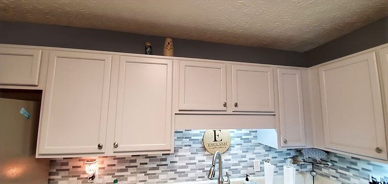 failing cabinet paint to professional cabinet paint