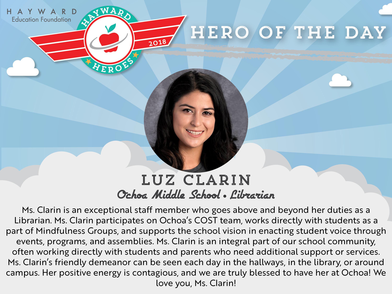 Hero a Day Slides_Clarin Luz