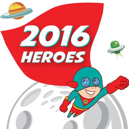 MEET THE 2016 HEROES