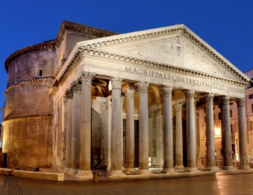 Pantheon, the hall of all gods