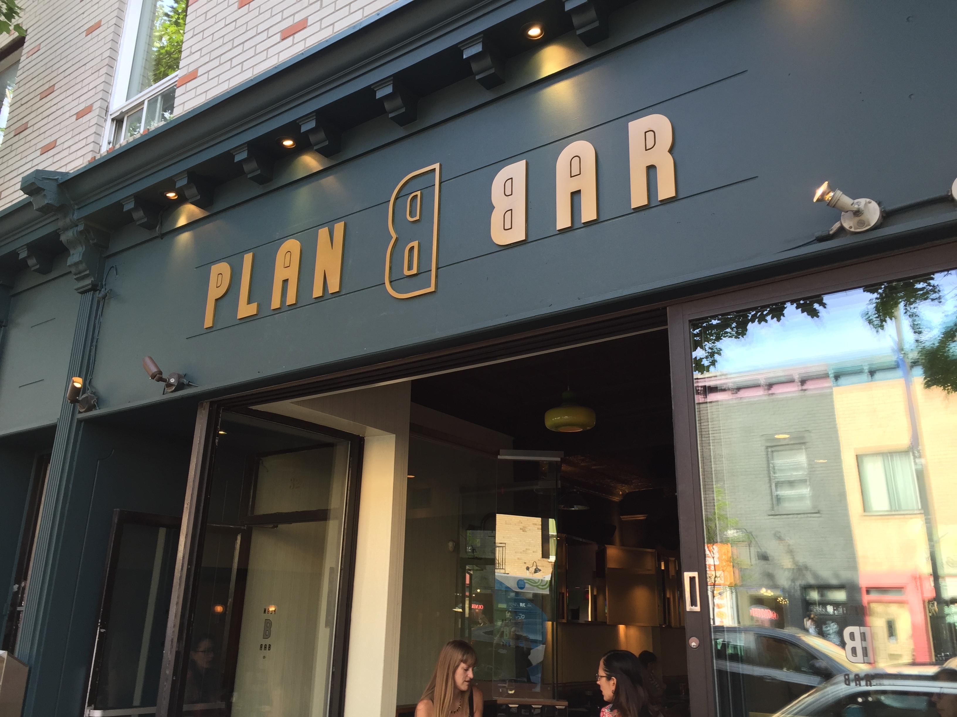 Enseigne Bar Plan B