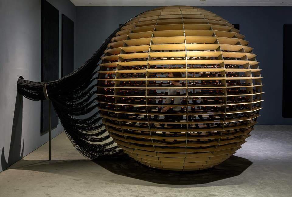 Sphère en érable massif