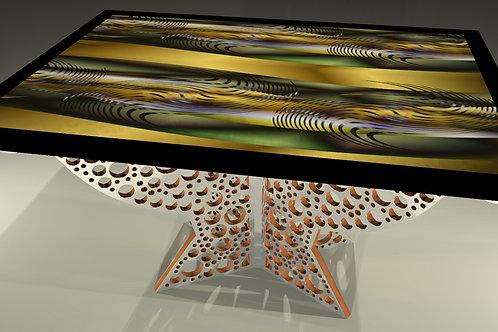 Table tableau - Painting table  : Safari 6