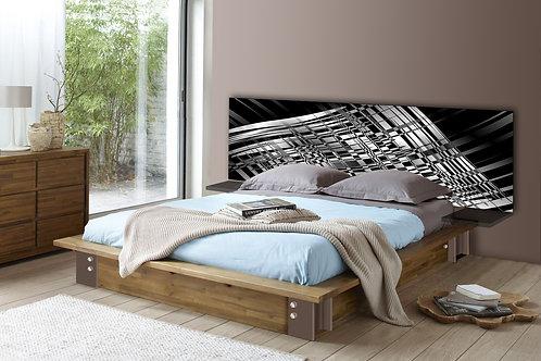 Tete de lit : Modèle Black & White