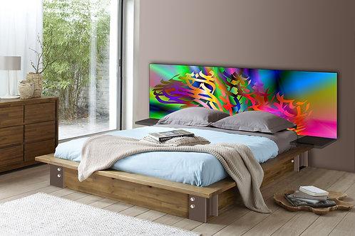 Tete de lit : Modèle Arbre 8
