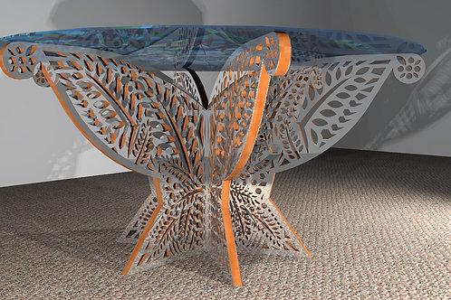 Table ronde 6 pieds : Modèle Jungle