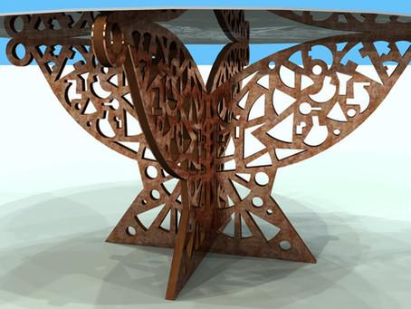 Création d'une nouvelle ligne de pieds de table JHN