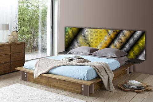 Tete de lit : Modèle Soiries