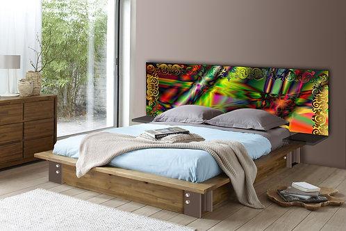 Tete de lit : Modèle Baroque
