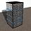 Thumbnail: Table de nuit : Modèle Cubique