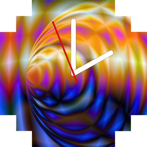 Horloge - Clock : Sensualité