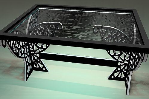 Table tableau - Painting table  : Hastens gris