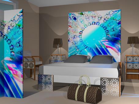 Un ensemble de meubles pour personnaliser une chambre