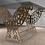 Thumbnail: Table rectangulaire 2 pieds droits : Papillon