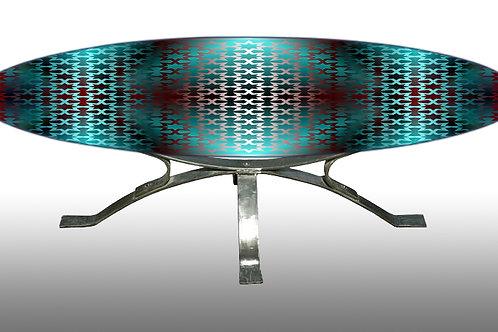 Plateau table basse - Coffee table : IMPATIENCE ORIENTALE