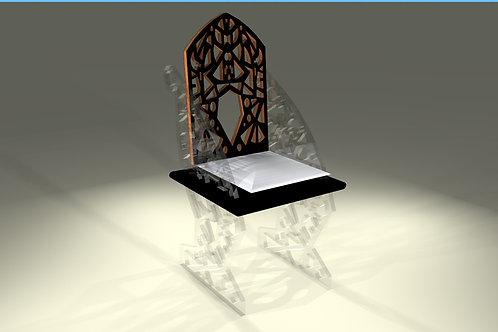 Chaise de table : Modèle Papillon (plusieurs finitions)