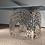 Thumbnail: Table carrée 4 pieds droits - Modèle Art Déco