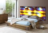 Option rétro-éclairage mural