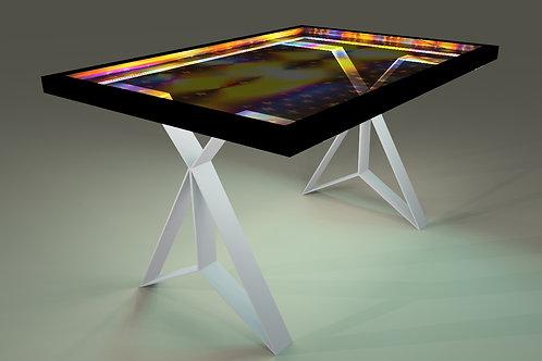 Table tableau - Painting table  : Nuit étoilée