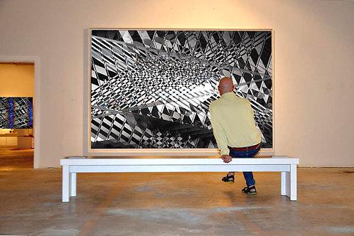 Tableau - Painting : Black & White