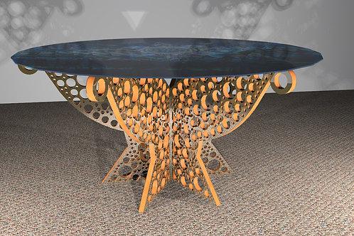 Table ronde 6 pieds : Modèle Cerclum