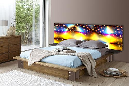 Tete de lit : Modèle Nuit étoilée