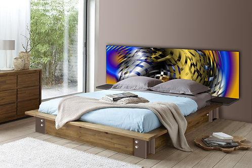 Tete de lit : Modèle Zebra 3