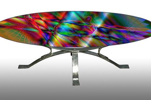 Table basse - Coffee table : Cadran lunaire 8