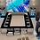 """Thumbnail: Chambre """"Rosace"""" avec tiroirs - Visuel """"Soleil aztèque bleu"""" à partir de"""